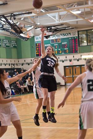 Whitman Girls Basketball 160130