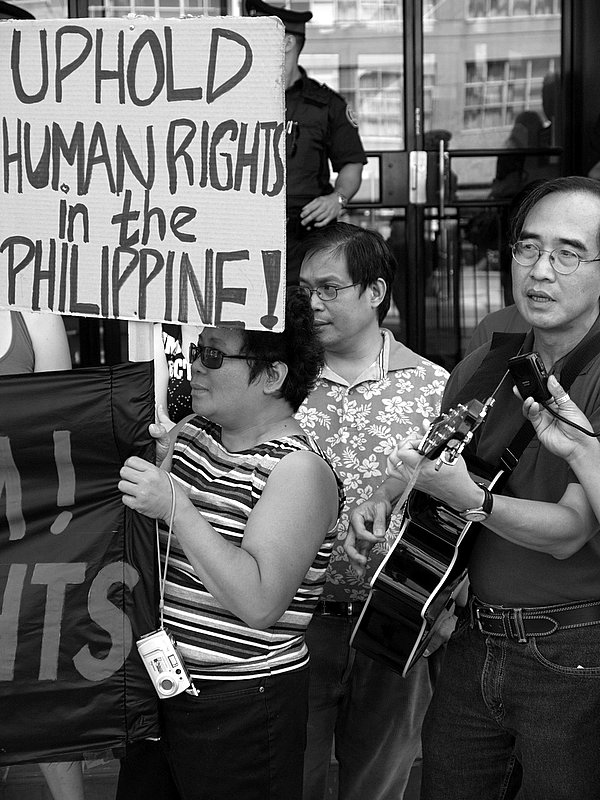 Picket & Rally at the Philippine Consulate