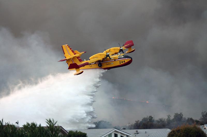 Camp Pendleton Fire 10-08 209