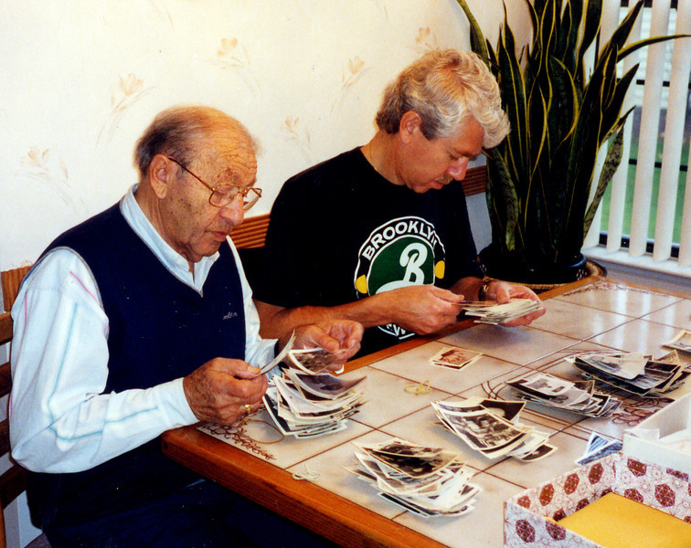 Passing the photographic torch - Father, son, and photos