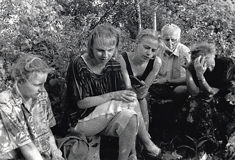 The Wujastyk Family Remembers<br /> <br /> There are three daughters in the Wujastyk family, Edytka, Agatka and Rennatka. They are Anna Kucharska's grandchildren. Only Rennatka spoke sufficient English to facilitate conversations. Most of the time however, the circumstances that bound our families together created a communication that transcended the spoken language. <br /> <br /> The Wujastyks are deeply religious people and our presence in their home seemed like nothing less than a visit by an official of the Catholic Church. We were tangible evidence of a lifeline sustained by the bravery and unselfish actions of their family matriarch. The sisters revered their grandmother and learned a considerable amount about the war years from her. They certainly learned more than I did from my mother who remained very secretive about her experiences. At times when we were together we would often touch upon a subject that triggered thoughts of Anna and her stories. Sitting in the field near the farm, time would stand still as Agatka recounted some of the anguishing tales the girls heard from their grandmother. There were also stories about my mother and her family that I had never heard, and may never have heard, had it not been for our journey to Zoltance.