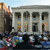 Ceremony marking completion of restoration takes place August 11, 2014 on Linwood Street.