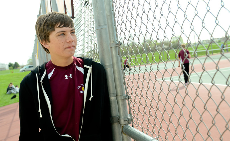Lockport's Austin Polke waits for his time to play, Tuesday, March 27 during a quad tournament at Lockport Township High School. photo for 22nd Century Media by Jean Lachat