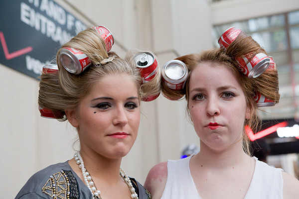 Lady Gaga fans outside the Verizon Center