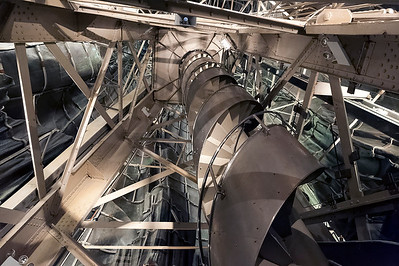The helix staircase  and structure inside the SOL