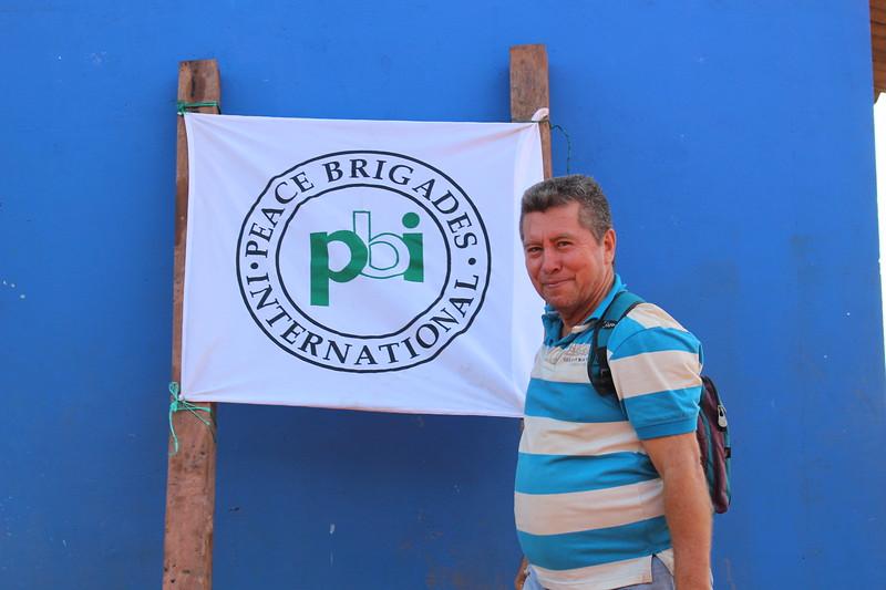 Enero 2018, acompañamiento a CREDHOS en Cerro Azul (San Pablo)