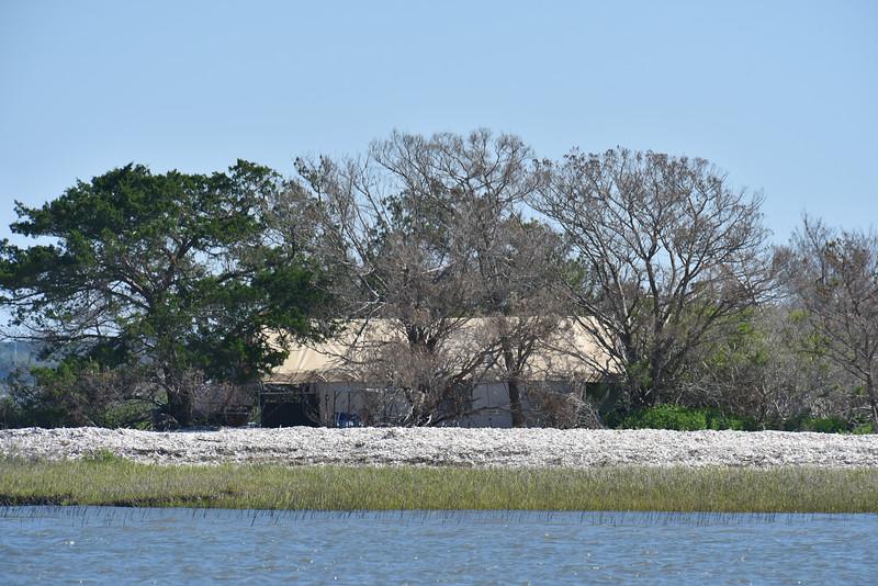 Little Racoon Key across from Jekyll Island - Tent 04-17-18