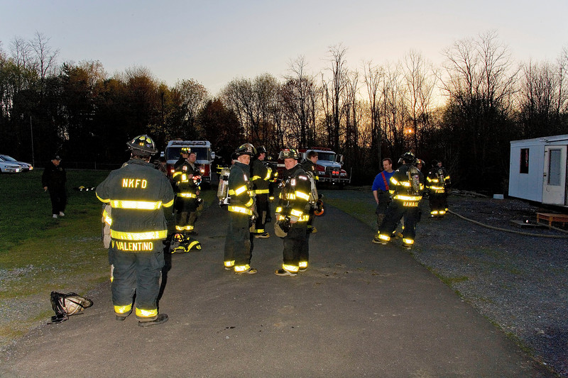 Live Fire Training - New Hackensack Fire Department
