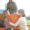 Loading pumpkins :
