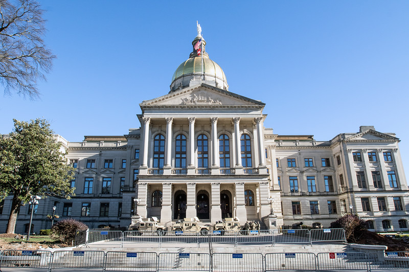 Georgia State Capitol Beefed Up Security