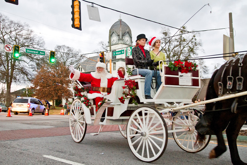 Fayetteville 2014 Christmas Parade