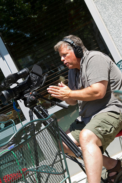 David Strong,  a Media Consultant, Director/Producer.