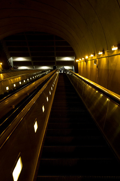 Rosslyn Metro Station - One of the world's longest escalators!