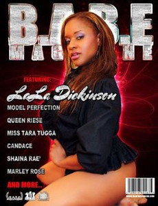 Magazine Cover shot for Babe Magazine