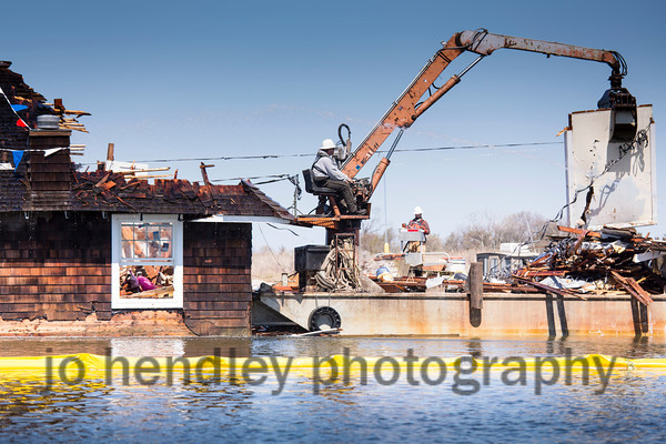 The Day The House On The Bay Came down 5 2 13