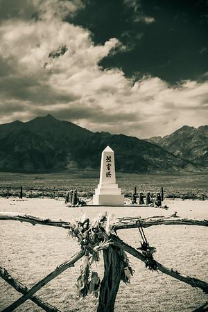 Paper Cranes, Soul Consoling Tower, Manzanar