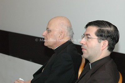 Cardinal George and Fr. Frank Pavone