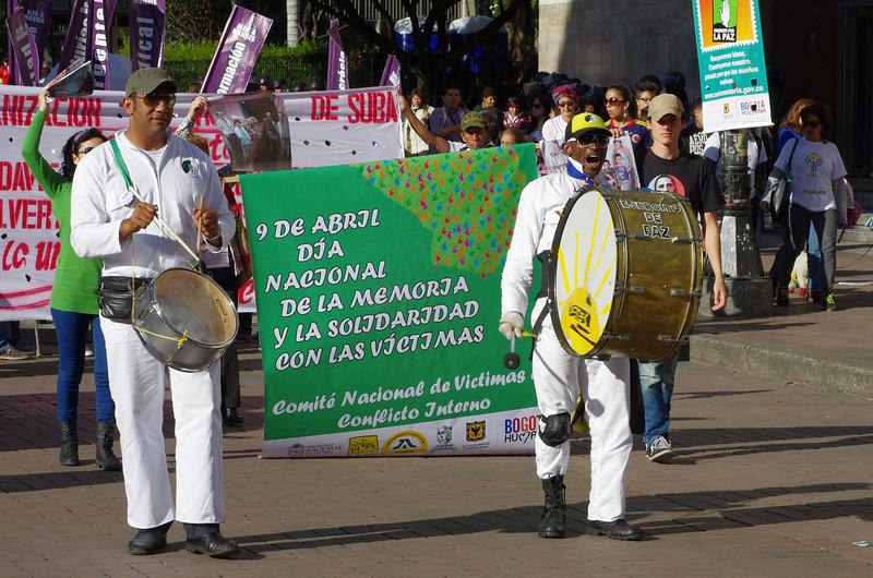 Por tercer año consecutivo se conmemoró el Día Nacional de Solidaridad y Memoria con las Víctimas.