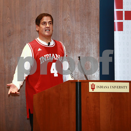Mark Cuban revisits Indiana University: Bloomington, Ind