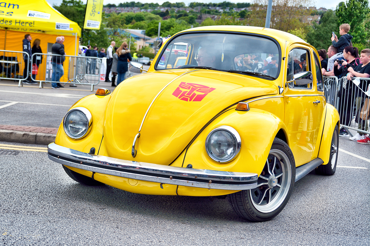 Volkswagen Beetle as Bumblebee