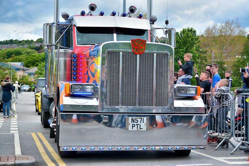 Peterbilt 379 as Optimus Prime