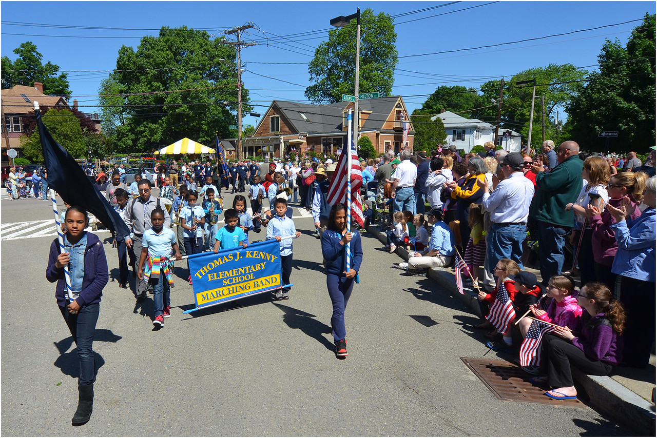 Students from Thomas J. Kenny Elementary School in Dorchester.