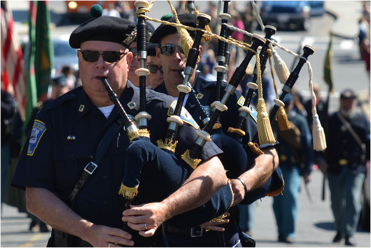 Boston Police Gaelic Column.
