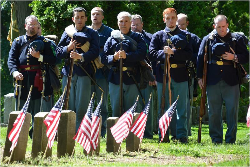 Members of the Irish 28th Massachusetts Volunteers.