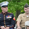 Guests speakers: two Afghanistan war veterans from Dorchester, Robert Flynn (left) and Michael Ball (right), both USMC.