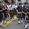 The Boston Police Gaelic Column marches up Hilltop Street.