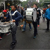 Entering gate of Cedar Grove Cemetery: members of the Thomas J. Kenny Elementary School Marching Band.