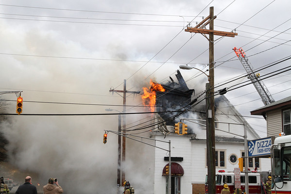 Millville Church Fire Dec 22 2012