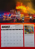 Fire Trucks in Action Calendar 2018