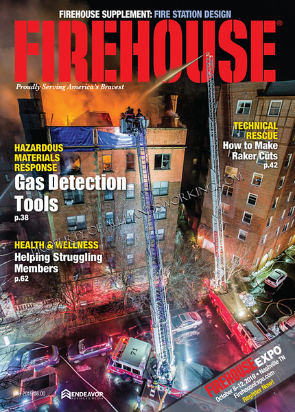 Cover Of Firehouse Magazine May Ed.