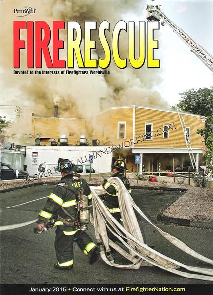 Fire Rescue cover 2015