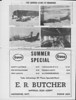 Moosetalk newspaper 1970 June 25th. Camera looks at Moosonee: opening day at liquor store, Two Bay barge, Meechim dining car, canoe. Ad for E. R. Butcher, Imperial Esso Agent.
