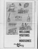 Moosetalk newspaper 1970 June 25th. Welcome visitors to Moosonee from the Bay.
