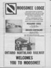 Moosetalk newspaper 1970 June 25th. Moosonee Lodge ad by Ontario Northland Railway.