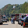 Motorcycle Accident with Medivac - Rte 9-SB south of old Rte 9 - Hughsonville and Rombout FD's, Town of Wappinger Medics/TransCare, Stat-Flight, and the NYSP operate. :
