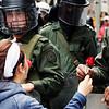 Mauricio Archila , historiador y analista en movimientos sociales del Cinep, considera que los movimientos que más logros tienen son los que evitan choques violentos.<br /> Foto: Leonardo Villamizar
