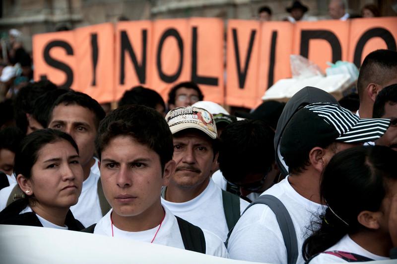 Uno de los movimientos sociales más importantes de la última década es el movimiento de víctimas. <br /> Foto: Leonardo Villamizar