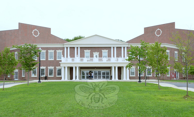 Newtown Youth Academy, located on the Fairfield Hills campus, was designed to fit in with the 1930s brick architecture. The building opened in late 2008, and is already preparing for extensive renovations and expansion.   (Bobowick photo)