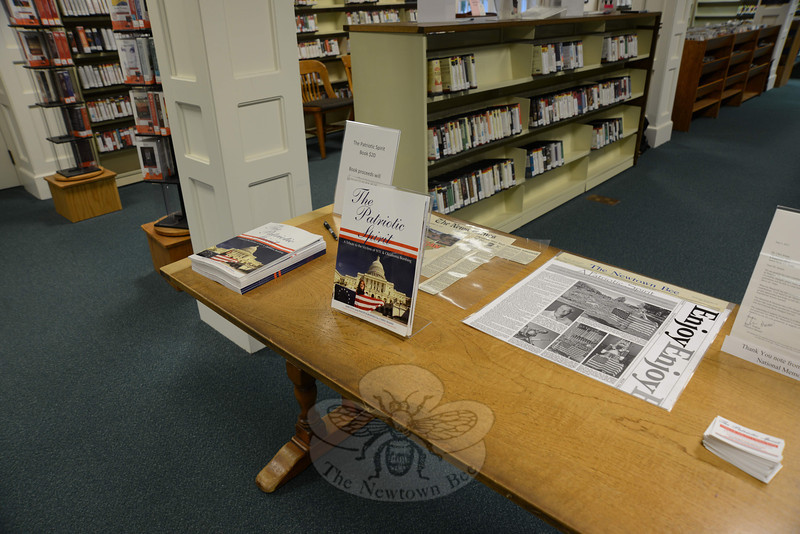The Patriotic Spirit author and photographer Chris Seman hosted a special book signing event on Friday, July 22, at the C.H. Booth Library.   (Bobowick photo)