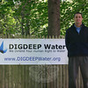 "David Plaue is organizing an event called Walk 4 Water that will raise funds for the Los Angeles-based company DigDeep Water, which is dedicated seeing ""water access … recognized as an inalienable human right."" An October 20 event at Fairfield Hills will have participants walking up to three miles, and carrying up to two liters of water at least part of that distance, to experience what others go through on a daily basis for their drinking water supply.   (Hicks photo)"