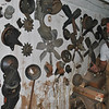 Auto gears neatly hung on a barn wall are already a work of art, says Abandoned host Jay Chaikin, and may be reproduced exactly as is for a future client. (Crevier photo)