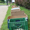 "Nine boxes were already serving as place holders at Reed Intermediate School by Tuesday morning, July 9, four days before the opening of this year's Friends of Booth Library Book Sale.   (Crevier photo)<br /> <br /> PLEASE NOTE: Additional photos from this event, which were presented online in a slideshow, can be viewed here: <a href=""http://photos.newtownbee.com/Journalism/Special-Events/Friends-of-Booth-Library-2013/30752329_vnDzwr#!i=2658611120&k=G8h5N94"">http://photos.newtownbee.com/Journalism/Special-Events/Friends-of-Booth-Library-2013/30752329_vnDzwr#!i=2658611120&k=G8h5N94</a>"