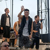 "Logan Henderson gives a wave to the audience on Monday.  (Bobowick photo)<br /> <br /> PLEASE NOTE: Additional photos from this event, which were presented online in a slideshow, can be viewed here:<br /> <a href=""http://photos.newtownbee.com/Journalism/Special-Events/Big-Time-Rush-concert-for"">http://photos.newtownbee.com/Journalism/Special-Events/Big-Time-Rush-concert-for</a>"