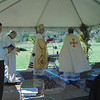 The Annual Ukrainian Festival, held on Sunday, September 23, at Paproski's Castle Hill Farm Pumpkin Patch, began with a Celebration of Divine Liturgy, photographed. The day was also a cultural festival attended by parishioners of the Protection of the Blessed Virgin Mary Ukrainian Catholic Church of Bridgeport and others. The event included hay rides, singing and dancing, a pyrogy eating contest, pony rides, ethnic and picnic foods and more.   (Hallabeck photo)
