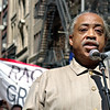 Al Sharpton at a press conference<br /> New York City<br /> 2006