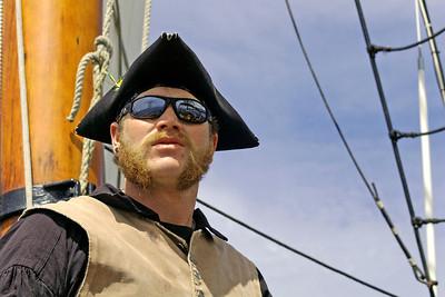 Captain Jeremiah Gempler of the  tall ship Hawaiian Chieftain Victoria, Canada 2008